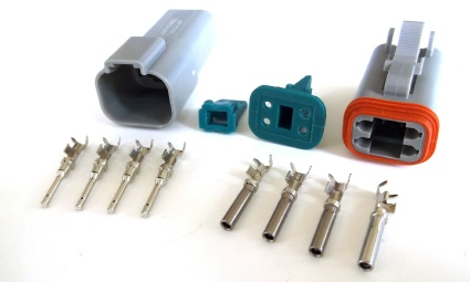 motorcycle terminals connectors and wiring accessories amphenol deutsch at dt type connectors